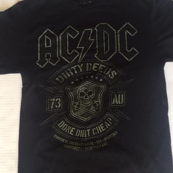 e815833538 ACDC Shirts | Dirty Deeds Done Dirt Cheap Tshirt | Poshmark